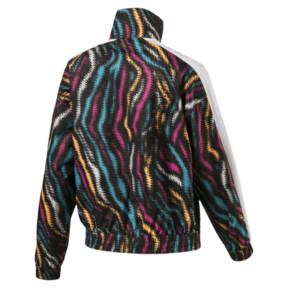 Thumbnail 3 of Wild Pack Women's Cropped Jacket, Puma Black-colour/Zebra, medium