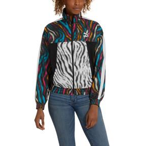 Thumbnail 2 of Wild Pack Women's Cropped Jacket, Puma Black-colour/Zebra, medium