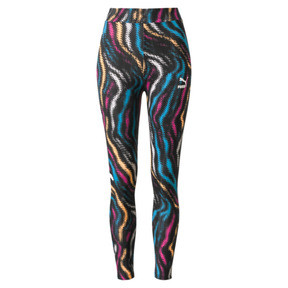 Thumbnail 1 of Wild Pack Women's Leggings, Puma White-colour Zebra AOP, medium