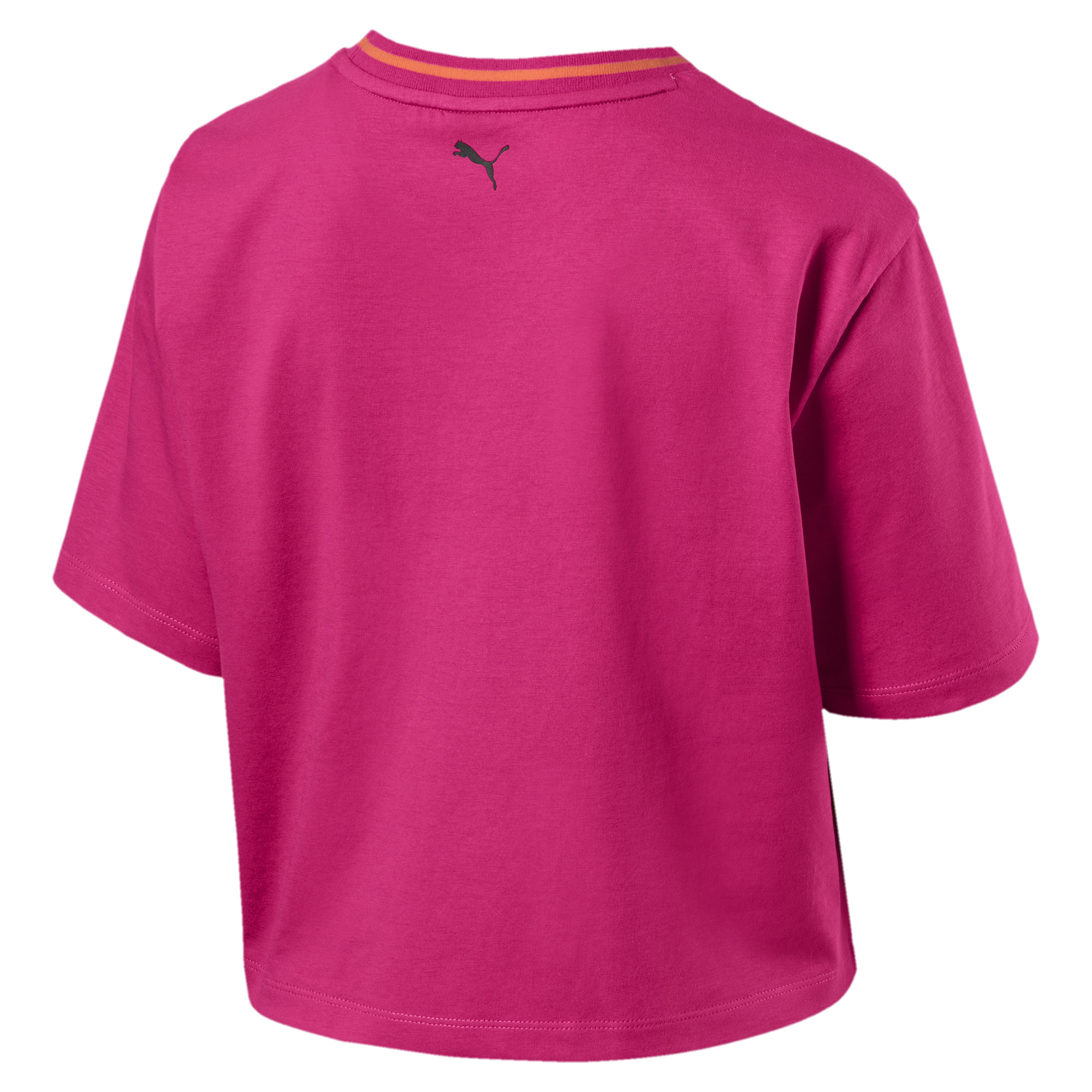 Image Puma Women's Rebel Reload Crop Tee #2