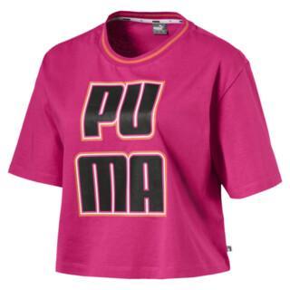 Image Puma Women's Rebel Reload Crop Tee