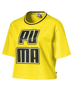 Image Puma Women's Rebel Reload Crop Tee