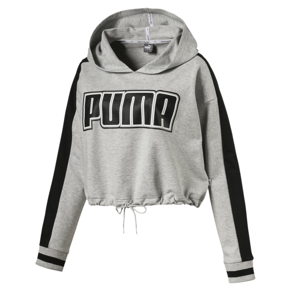 Image Puma Women's Rebel Reload Cropped Hoodie #1
