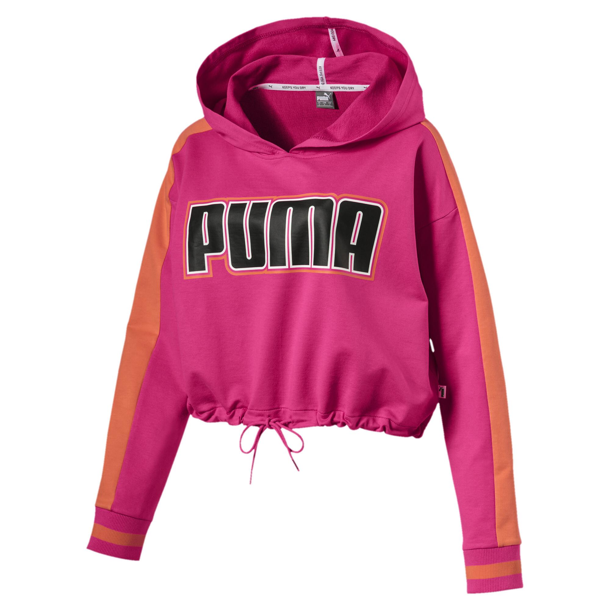 Image Puma Women's Rebel Reload Cropped Hoodie #1