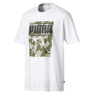 Görüntü Puma Camo Pack Logo Erkek T-Shirt