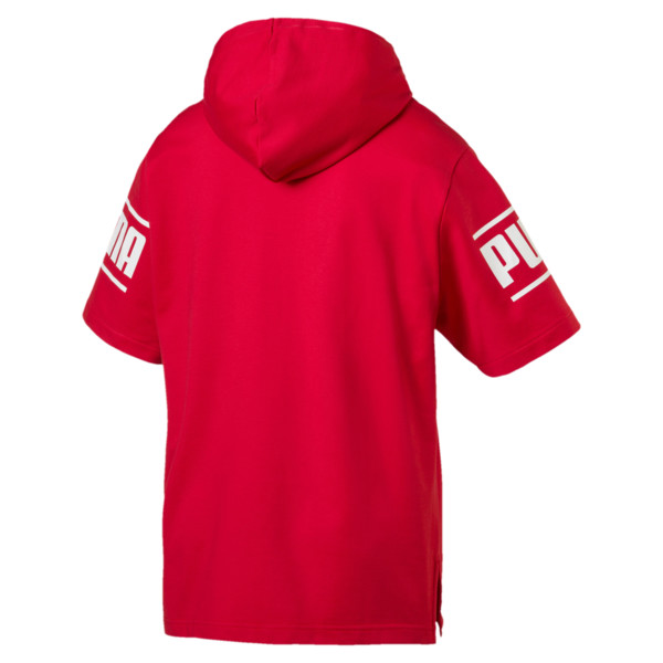 Camo Pack Men's Short Sleeve Hoodie, High Risk Red, large