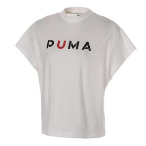 Thumbnail 1 of WOMEN'S PUMA TEE, Puma White, medium-JPN