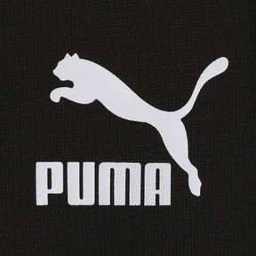 Thumbnail 3 of WOMEN'S パッチ フーディー, Puma Black, medium-JPN