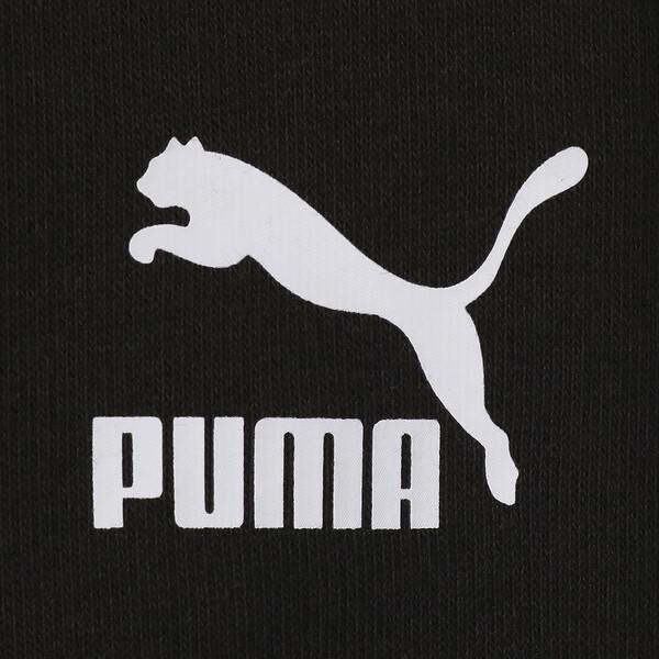 WOMEN'S パッチ フーディー, Puma Black, large-JPN