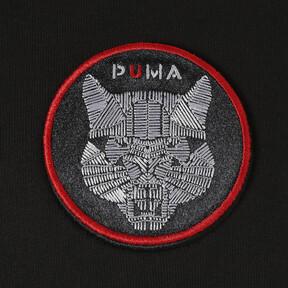 Thumbnail 7 of WOMEN'S パッチ フーディー, Puma Black, medium-JPN