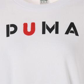 Thumbnail 6 of WOMEN'S PUMAクルー, Puma White, medium-JPN