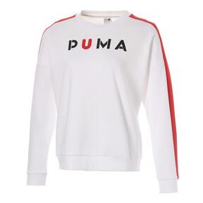 Thumbnail 1 of WOMEN'S PUMAクルー, Puma White, medium-JPN