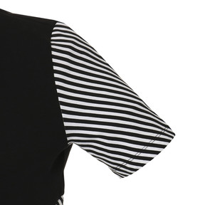 Thumbnail 4 of CLASH AOP ウィメンズ トップ, Cotton Black-Stripe, medium-JPN