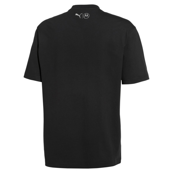 PUMA x MOTOROLA Men's Tee, Puma Black, large