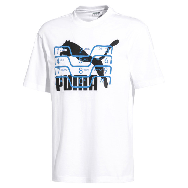PUMA x MOTOROLA Men's Tee, Puma White, large