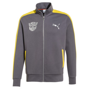 Thumbnail 1 of PUMA x TRANSFORMERS T7 Men's Track Jacket, QUIET SHADE, medium