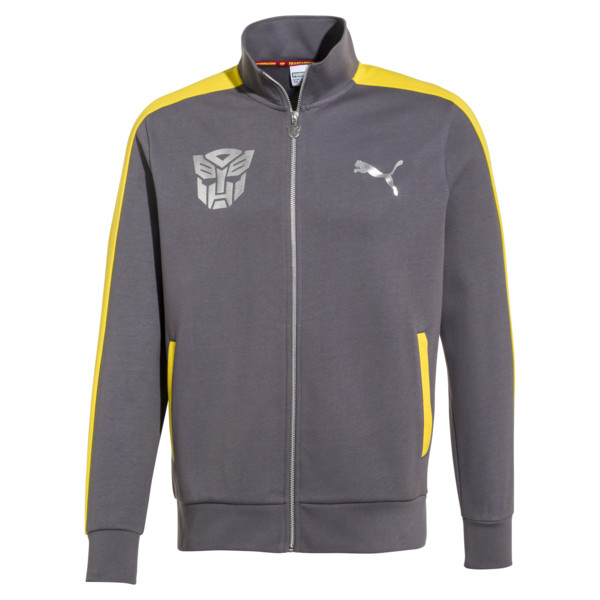 PUMA x TRANSFORMERS T7 Men's Track Jacket, QUIET SHADE, large
