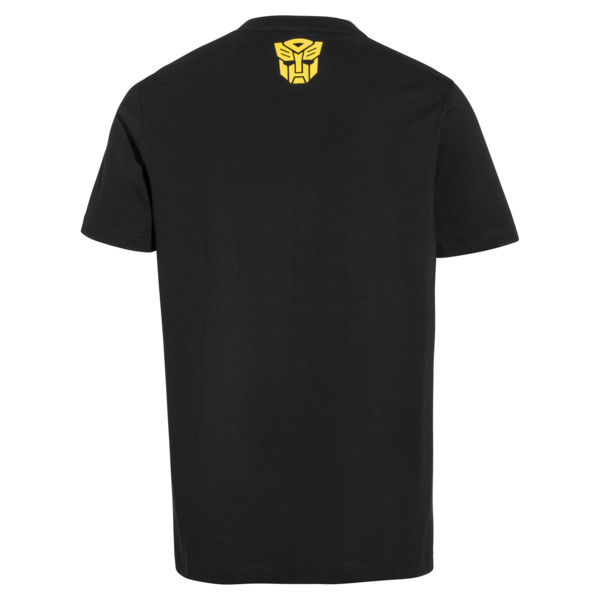 PUMA x TRANSFORMERS Men's Tee, Puma Black, large