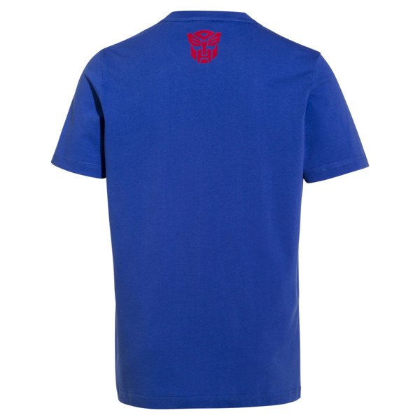 PUMA x TRANSFORMERS T-shirt voor heren, Dazzling Blue, large
