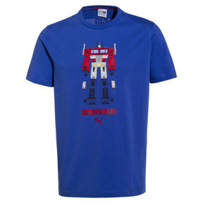 Thumbnail 1 of PUMA x TRANSFORMERS Men's Tee, Dazzling Blue, medium