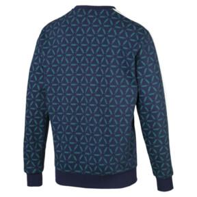 Thumbnail 4 of Lux Men's Crewneck Sweatshirt, Peacoat, medium