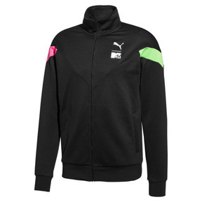 Thumbnail 1 of PUMA x MTV MCS Men's Track Jacket, Puma Black, medium
