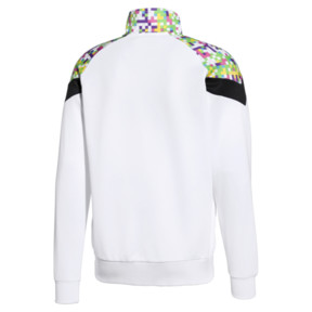 Thumbnail 2 of PUMA x MTV MCS All-Over Printed Zip-Up Men's Track Top, Puma White-AOP, medium