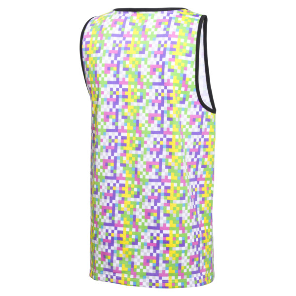 PUMA x MTV All-Over Printed Men's Tank Top, -Puma White AOP, large