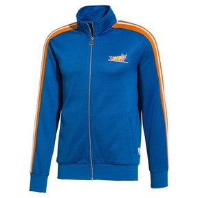 Thumbnail 1 of PUMA x HOT WHEELS T7 Spezial Men's Track Jacket, Directoire Blue, medium