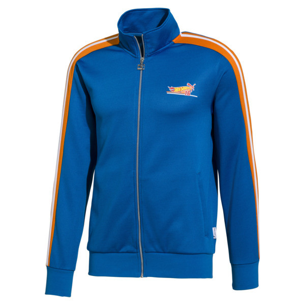 PUMA x HOT WHEELS T7 Spezial Men's Track Jacket, Directoire Blue, large
