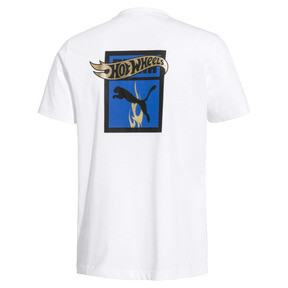 Thumbnail 2 of PUMA x HOT WHEELS Men's Tee, Puma White -1, medium