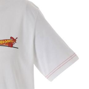 Thumbnail 4 of PUMA x HOTWHEELS Tシャツ 半袖, Puma White, medium-JPN