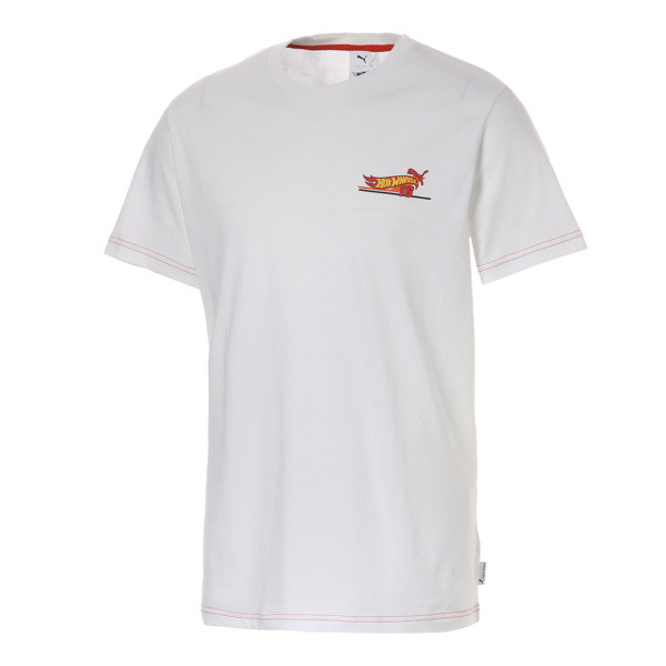PUMA x HOTWHEELS Tシャツ 半袖, Puma White, large-JPN