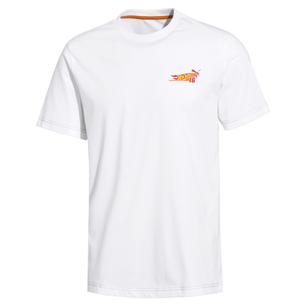 PUMA x HOT WHEELS Men's Tee, Puma White, large
