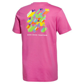Thumbnail 2 of T-Shirt PUMA x MTV pour homme, SHOCKING PINK, medium