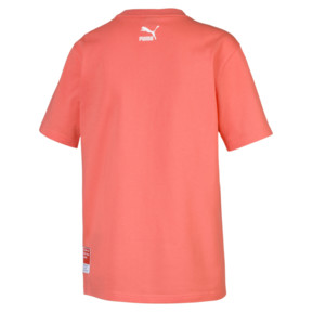 Thumbnail 2 of PUMA x PANTONE Tee, Transparent-Living Coral, medium