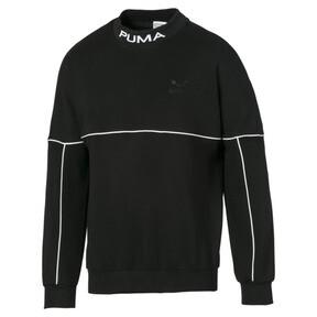 Puma - Evolution Herren Sweatshirt mit hohem Kragen - 1