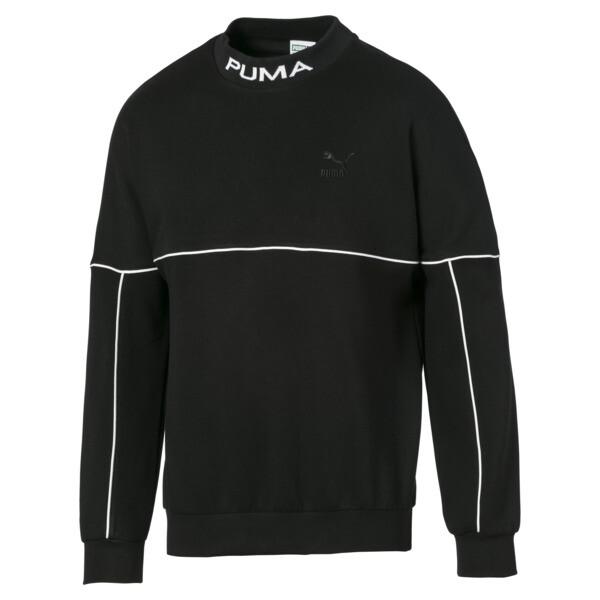 Puma - Evolution Herren Sweatshirt mit hohem Kragen - 3