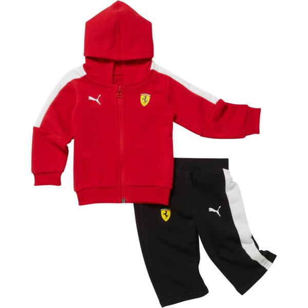 Scuderia Ferrari Toddler Tracksuit, Rosso Corsa, large