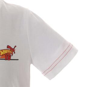 Thumbnail 4 of キッズ PUMA x HOTWHEELS Tシャツ (半袖), Puma White-ORIOLE, medium-JPN