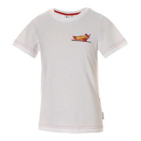 Thumbnail 1 of キッズ PUMA x HOTWHEELS Tシャツ (半袖), Puma White-ORIOLE, medium-JPN