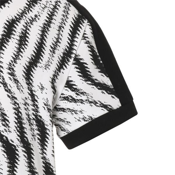 WILD PACK ウィメンズ AOP Tシャツ, Puma White-Zebra AOP, large-JPN