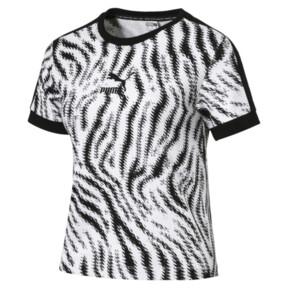 Thumbnail 1 of WILD PACK ウィメンズ AOP Tシャツ, Puma White-Zebra AOP, medium-JPN