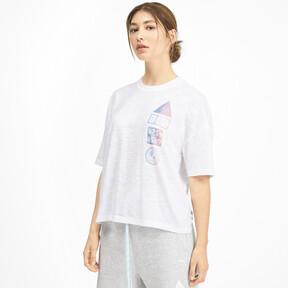 Thumbnail 1 of SG x PUMA ウィメンズ Tシャツ, Puma White, medium-JPN