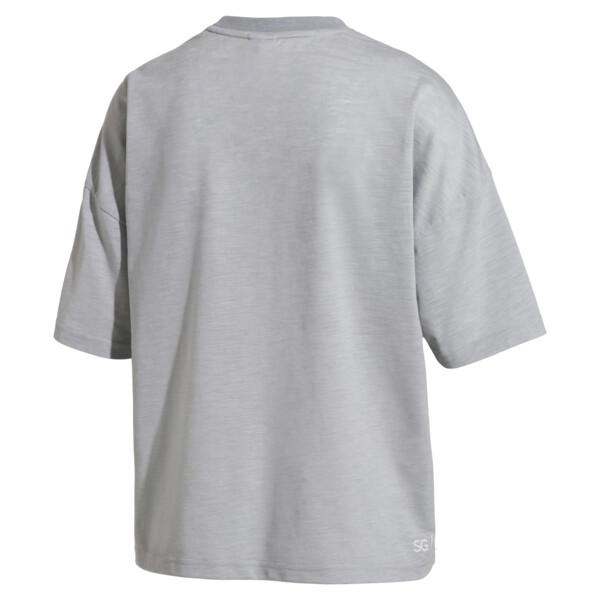 SG x PUMA ウィメンズ Tシャツ, Light Gray Heather, large-JPN