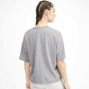 Thumbnail 2 of SG x PUMA ウィメンズ Tシャツ, Light Gray Heather, medium-JPN