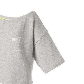 Thumbnail 7 of SG x PUMA ウィメンズ スウェットシャツ, Light Gray Heather, medium-JPN