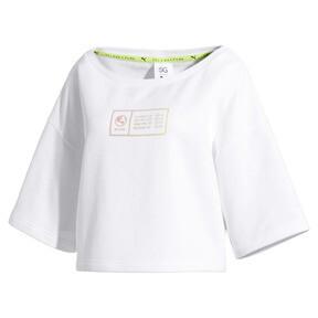 Thumbnail 4 of SG x PUMA Sweatshirt, Puma White, medium