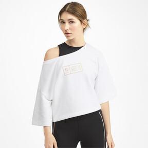 Thumbnail 1 of SG x PUMA Sweatshirt, Puma White, medium