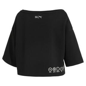 Thumbnail 5 of SG x PUMA ウィメンズ スウェットシャツ, Puma Black, medium-JPN
